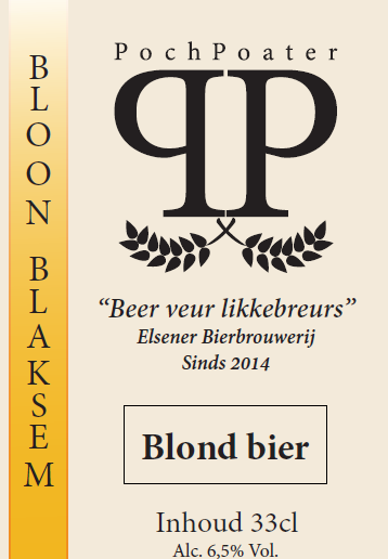 blond bier - elsener bierbrouwerij pochpoater