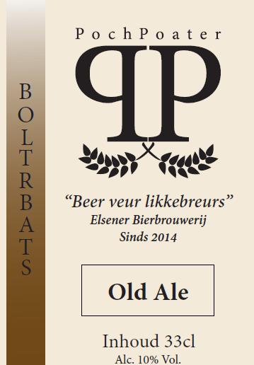old ale - elsener bierbrouwerij pochpoater