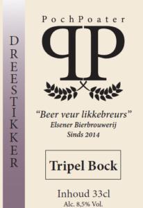 tripel bock- elsener bierbrouwerij pochpoater