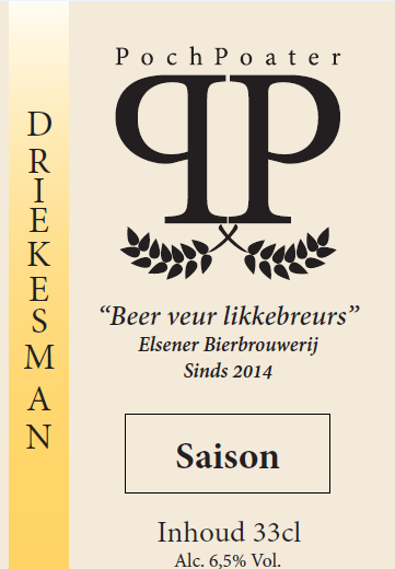 saison - elsener bierbrouwerij pochpoater
