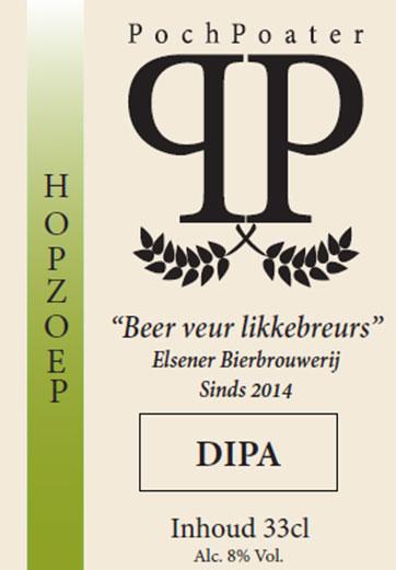 dipa - elsener bierbrouwerij pochpoater