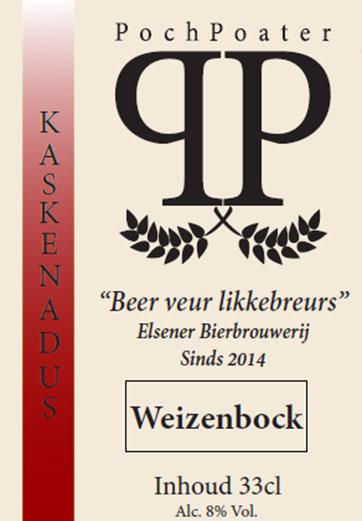 weizenbock - elsener bierbrouwerij pochpoater