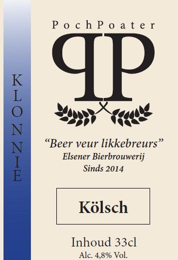 kölsch - elsener bierbrouwerij pochpoater