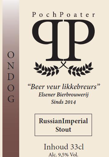 russian imperial stout - elsener bierbrouwerij pochpoater