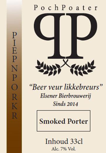 smoked porter - elsener bierbrouwerij pochpoater