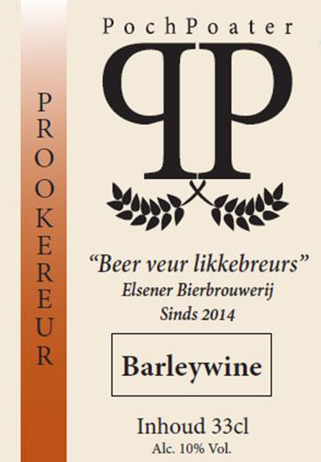 barleywine - elsener bierbrouwerij pochpoater