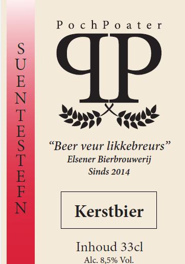 kerstbier - elsener bierbrouwerij pochpoater
